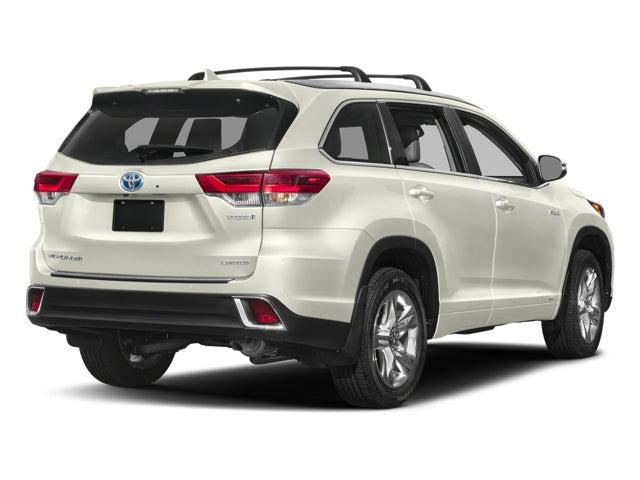 2018 Toyota Highlander Hybrid Limited Toyota Dealer Serving St