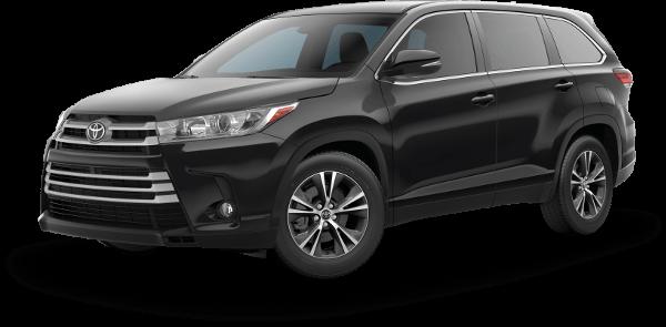 2019 Toyota Highlander Le Plus Trim In Black