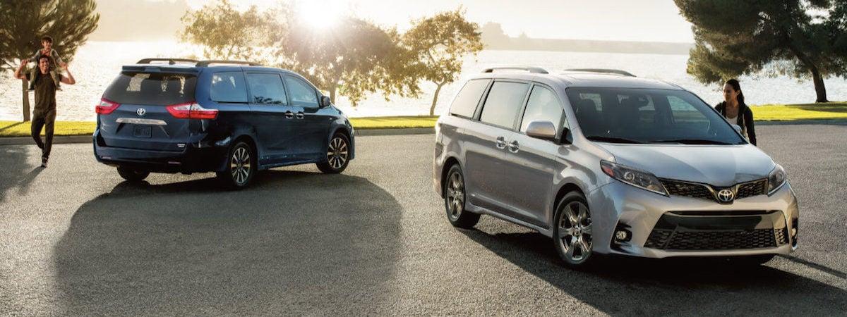 2020 Toyota Sienna L vs LE vs SE vs SE Premium vs XLE vs Limited