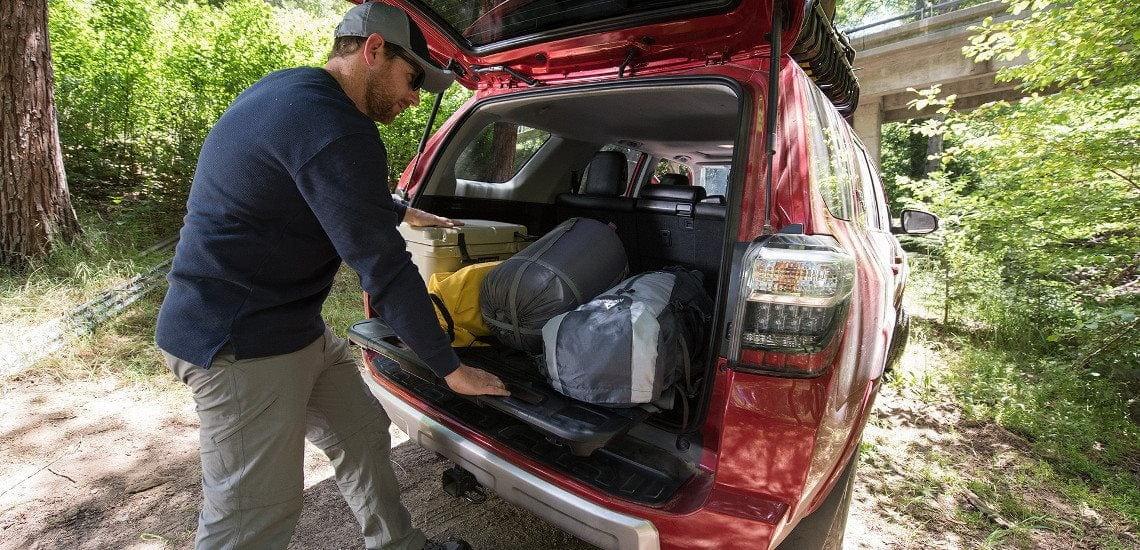 2017 Toyota 4runner Storage Capacity