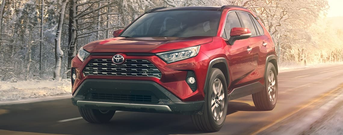 2019 Toyota Rav4 Performance Trims Interior Safety Lease Deal